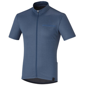 Shimano Transit Pavement SS Jersey Men, dark denim